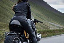 Moto a Žena
