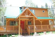 Casa de Cerezas / Beautiful is what we think of this cabin! The interior is very spacious as well as upscale furnishings. The location is far enough out to allow a mountain getaway experience yet driving to town is an easy yet scenic drive! Aspens and Pines galore.