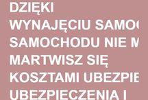 Wypożyczalnia samochodów Łódź / DZIĘKI WYNAJĘCIU SAMOCHODU NIE MARTWISZ SIĘ KOSZTAMI UBEZPIECZENIA I EKSPLOATACJI !