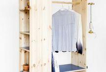 diy pallet built in cupboards