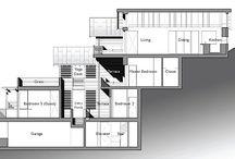 Sloped house design
