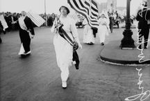 """Women in Chicago History / From household names to the girls next door, women have undoubtedly shaped the face of Chicago, and these photos capture both their iconic """"firsts"""" and everyday activities."""