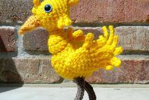 Crochet: Sci-Fi/Fantasy/TV / Patterns su personaggi di fantasia o del mondo della fantascenza in generale