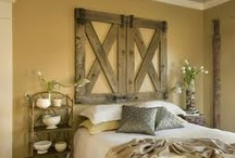 Bedrooms-Rough Luxe / by Cindy Hattersley Design/Rough Luxe Lifestyle Blog