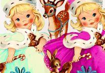 Nostalgic Christmas Clip Art