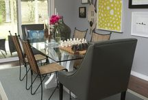 Diningrooms to Die For / Delightful dining room designs.