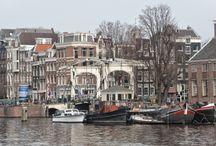 Nieuwe Herengracht Amsterdam / Oud en nieuw Amsterdam