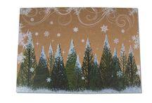 Weihnachten - Christmas and Advent / Geschenkpapier, Weihnachtskarten, Geschenktüten und Papierbeutel aus Kraftpapier. [EN] Wrapping paper, Christmas cards, gift bags and paper bags from kraft paper.