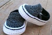 cochet baby shoes