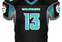 Football Uniforms / Custom Football Uniforms