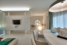 CORE SALGADOS / A conversion of a one bedroom apartment into a living space with 2 sleeping areas. Interior design by CORE