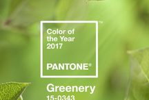Inspired by Greenery - Pantone Colour of the Year 2017 / Full of design inspiration to incorporate Pantone's Colour of the Year for 2017, Greenery and other gorgeous greens!