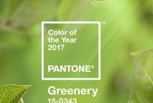 2017 is Greenery