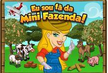 minha mini fazenda / games