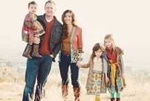 Clothing Family Photoshoot, Fall / Winter / Here are some inspiration for the What to Wear question!