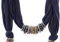 Scarfs jewelry