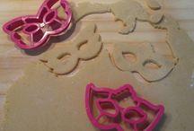 arriva il carnevale / idee per dolci buoni, colorati e carnvaleschi