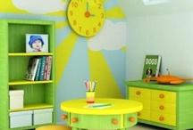 computer/playroom / by Bridget Short