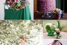 Palette e colori per il matrimonio / Le palette di colori più belli e originali per le nozze!