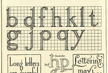 Create: letters and fonts