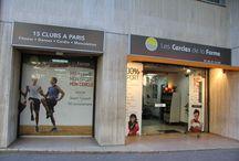 Cercle Raspail Paris 14 / A deux pas de Montparnasse, le Cercle de la Forme Raspail propose 1.000 m2 dédiés au bien-être et à la forme. 226, Bld Raspail Paris 14ème Tél : 01 43 21 14 40 http://www.cerclesdelaforme.com/fr/club-sport-fitness-paris-14eme/