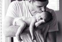 bebek ve baba pozları