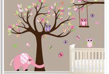 Nursery decals