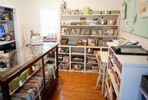 craft room / by Erin Koirtyohann