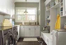 Laundry room/mudroom / by Sharon Sheehan