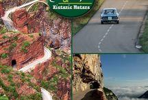 les 40 plus belles routes de France / les 40 plus belles routes de France pour voyager en voiture, en moto, route panoramique, route mythique, route historique, route de belvédère, route de montagne, route de gorge, route touristique,
