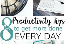 Organization, Time Management, Productivity