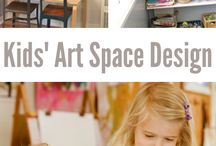 Kids Art Projects / Ideas for making art with kids