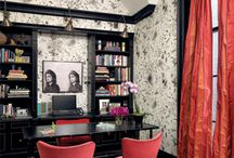 Working from Home / A home office needs to be functional, but can also be beautiful. Here's ideas for creating your ultimate home workspace. / by Mosby Building Arts