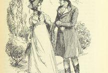 Jane Austen Books' Illustrations