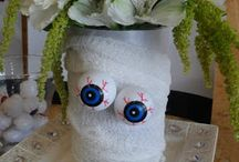 Bright Eyedeas - Autumn/Fall / Autumn, fall, harvest and Halloween themed visual merchandising and window display ideas.
