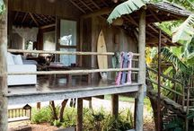 Beach houses/Huts