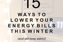 Ways to Save on Electric Bill / Always looking for a way to save on electricity? Here are a few pointers.