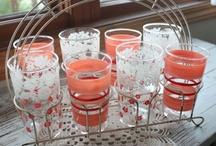 Vintage glass sets