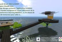Education - Pédagogie- Jeux sérieux / Projets de résidents sur FrancoGrid