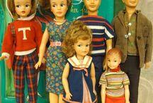 Tammy family dolls
