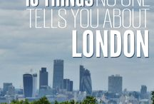 London places / No one tells u