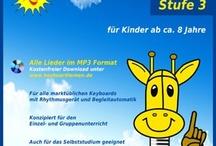 Keyboardlernen für Kinder  / Der erste Weg zum Keyboardspiel - www.keyri.de - Für Kinder ab 6/8 Jahre