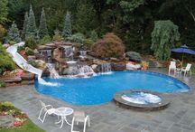 Pool & pool shed ideas