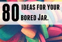 Ideas for when bored or crafts (DIY)