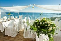 Cyprus Weddings / With stunning views of the Mediterranean and in a world of its own, the Grecian Sands Hotel will ensure that your special day will be full of romantic memories <3