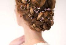 Hairdo for wedding ceremony