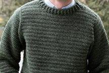 Men crochet