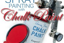 Painting with a Spray Gun
