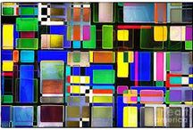 Coloured glass windows / Research for project
