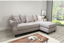 Corner sofas / The Love Sofas Corner Range is very stylish, comfortable and excellent value for money. These suites are from our favourite best-selling collections, available in soft bonded leather or fabric and a variety of corner combinations.